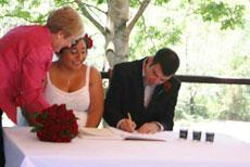 Brisbane Celebrant at Wedding