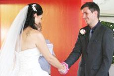 Lovely wedding Couple